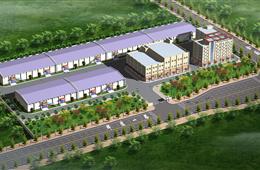 河南省郑州市区域配送中心项目